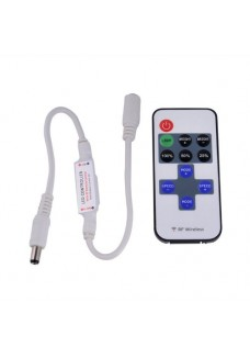 Single Color Mini RF Wireless Remote Control Dimmer