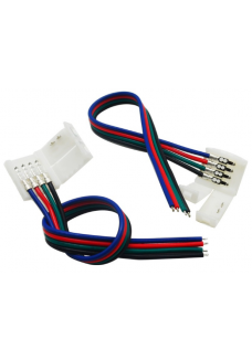 Solder-less RGB/W Strip Power Input Connector