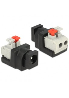 2.1mm Female DC Connector PUSH Style