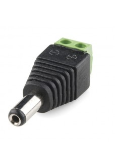 Male DC Connector SCREW-IN Style