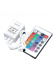 RGB IR 24 Keys Wireless Controller Set